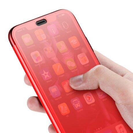 Husa 360 iPhone XS 5.8'' Translucent View, Baseus, Rosie
