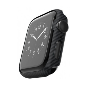 Husa Air Case Pitaka Watch pentru Apple Watch 4/5 40mm Negru