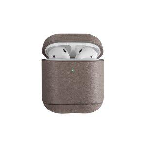 Husa Airpods Silicon Uniq Terra pentru Apple Airpods 1/2 Bej