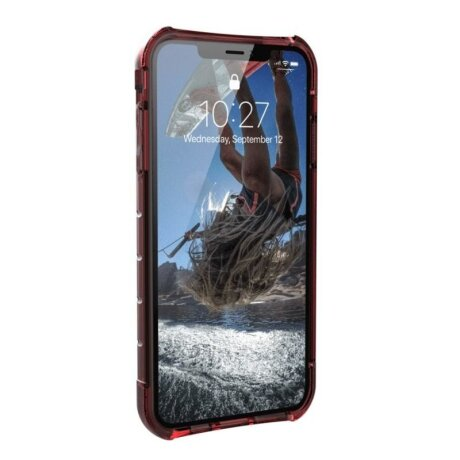 Husa Antisoc iPhone XS MAX Plyo Crimson UAG