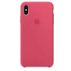 Husa Apple Silicone Cover pentru iPhone XS Max MUJP2ZM/A Coral