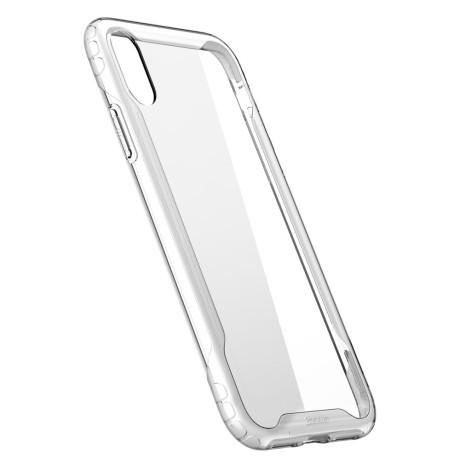 Husa Armor Protection Case, iPhone XS BASEUS, Alba