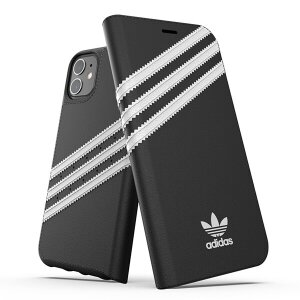 Husa Book Adidas OR pentru iPhone 12 Mini White-Black
