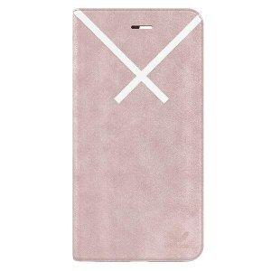 Husa Book Adidas pentru iPhone 6/7/8 Plus Pink