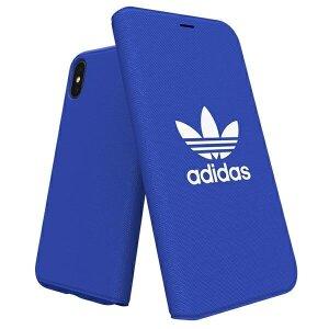 Husa Book Adidas pentru iPhone X/XS Blue