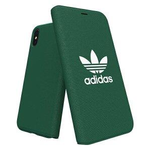 Husa Book Adidas pentru iPhone X/XS Green
