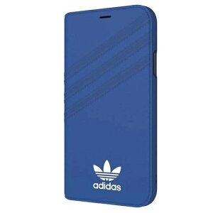 Husa Book Adidas Suede pentru iPhone X/XS Blue