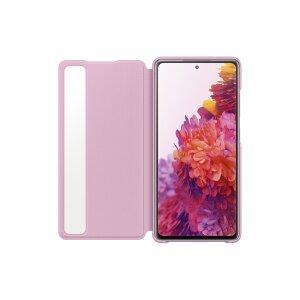 Husa Book Clear View Samsung pentru Samsung Galaxy S20 FE Violet