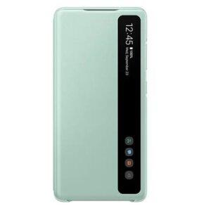 Husa Book Clear View Samsung pentru Samsung Galaxy S20 FE Mint