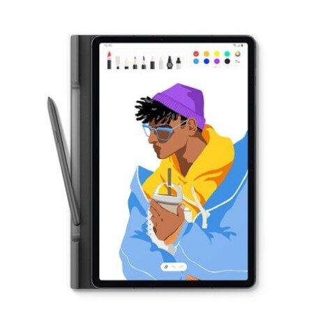 Husa Book Cover Samsung pentru Samsung Galaxy Tab S7+ 12.4 Inch Negru