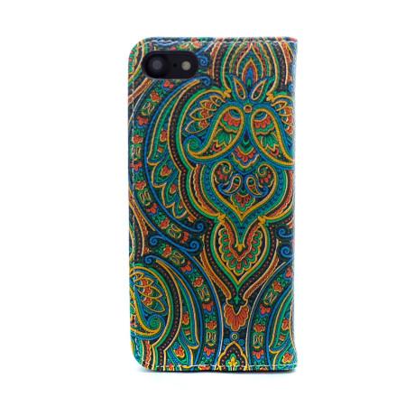 Husa book fashion iPhone 7/8/SE 2, Verde