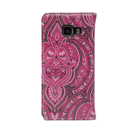 Husa Book Fashion Samsung Galaxy A3 2016, Roz