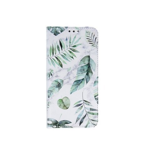 Husa Book Fashion Trendy Spring Leavs pentru Samsung Galaxy A41