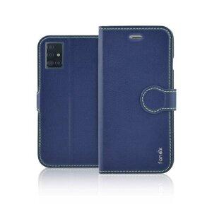Husa Book Fonex pentru Samsung Galaxy A51 Albastru