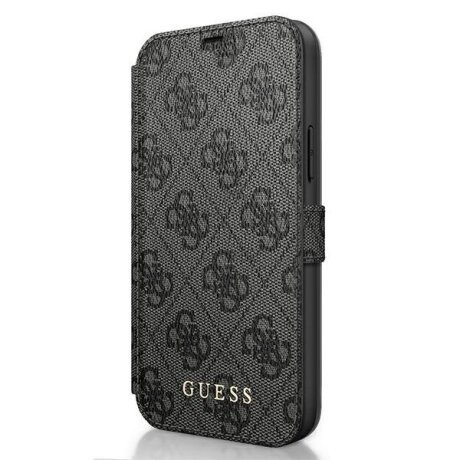 Husa Book Guess pentru iPhone 12 Mini Grey