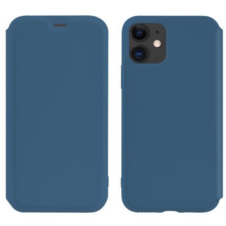Husa Book Hoco Colorful Silicon iPhone 11 Albastru