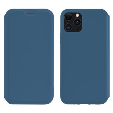 Husa Book Hoco Colorful Silicon iPhone 11 Pro Max Albastru