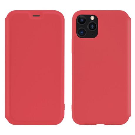 Husa Book Hoco Colorful Silicon iPhone 11 Pro Max Rosu