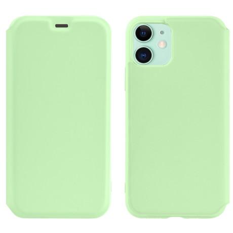 Husa Book Hoco Colorful Silicon iPhone 11 Verde