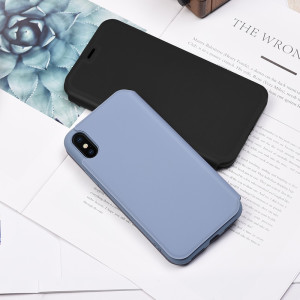 Husa Book Hoco Colorful Silicon iPhone X/XS Negru