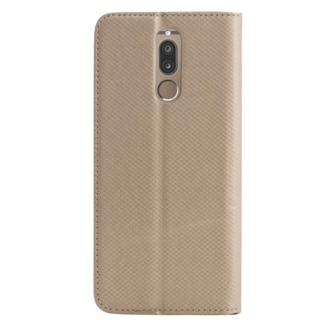 Husa Book Huawei Mate 10 Lite, Contakt Aurie