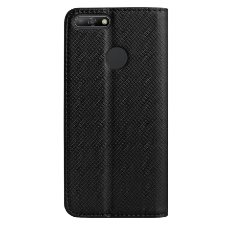Husa Book Huawei P Smart, Contakt Neagra