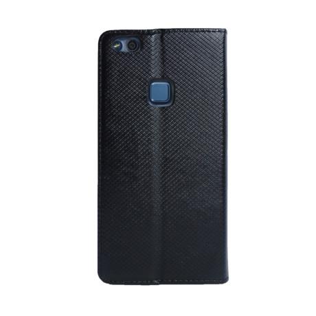 Husa Book Huawei P10 Lite, Contakt Neagra