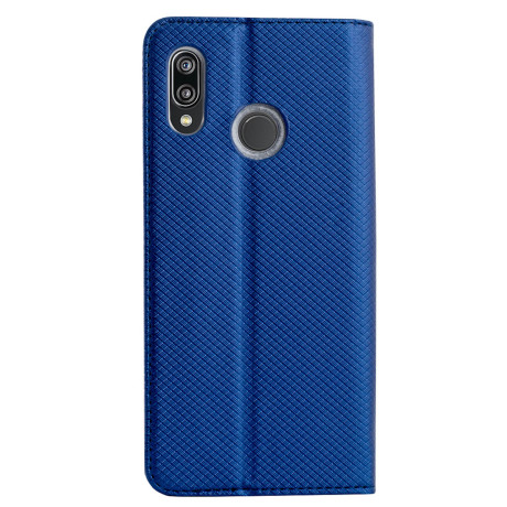 Husa Book Huawei P20 Lite, Contakt Albastra