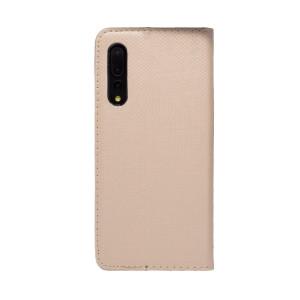 Husa Book Huawei P20 Pro, Contakt Aurie