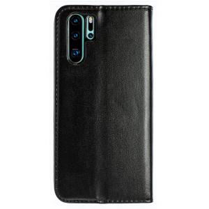Husa Book Huawei P30 Pro, Negru