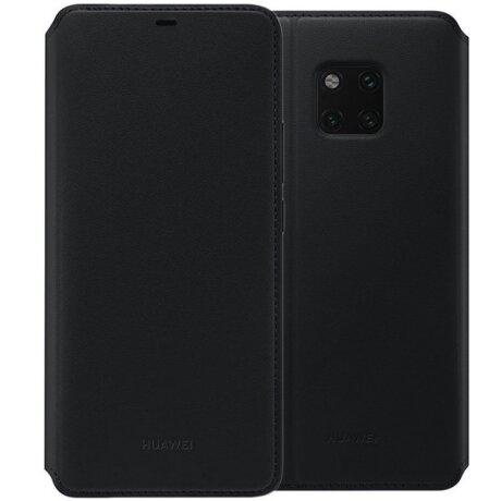 Husa Book Huawei pentru Huawei Mate 20 Pro Black