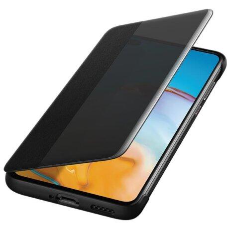 Husa Book Huawei Smart View pentru Huawei P40 Black