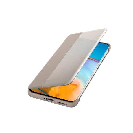 Husa Book Huawei Smart View pentru Huawei P40 Pro Kaki