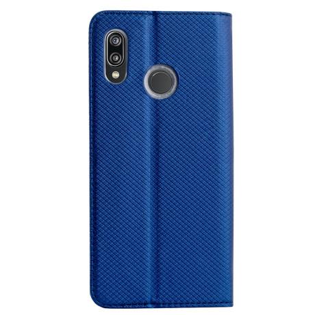 Husa Book Huawei Y7 2019, Albastru