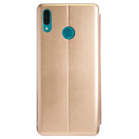 Husa Book Huawei Y9 2019, Auriu OC
