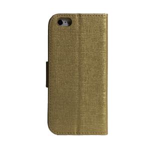 Husa Book iPhone 6/6S Auriu