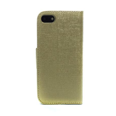 Husa Book iPhone 7/8/SE 2 Auriu