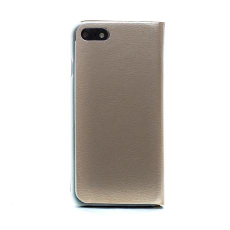 Husa Book iPhone 7/8/SE 2 Auriu CTK