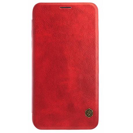 Husa Book iPhone XR, Nillkin Rosu Qin