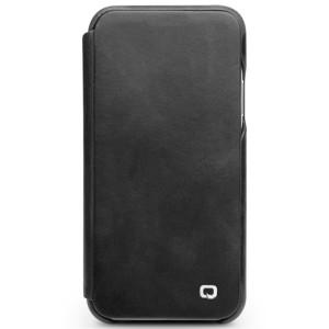 Husa Book iPhone X/Xs 5.8'' Qialino Neagra