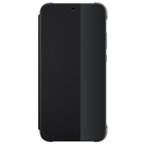 Husa Book Leather Huawei pentru Huawei P20 Lite Black