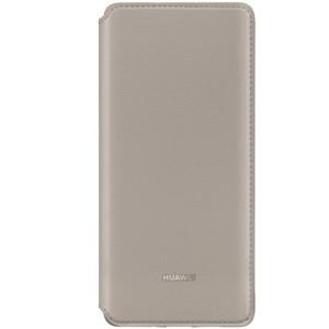 Husa Book Leather Huawei pentru Huawei P30 Pro Kaki