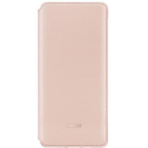 Husa Book Leather Huawei pentru Huawei P30 Pro Pink