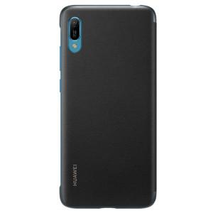 Husa Book Leather Huawei pentru Huawei Y6 2019 Black