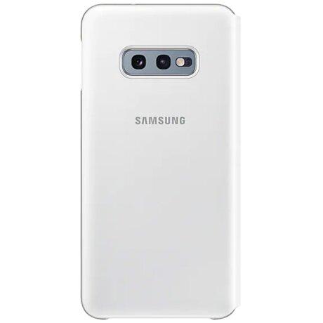 Husa Book Led Samsung pentru Samsung Galaxy S10e Alb