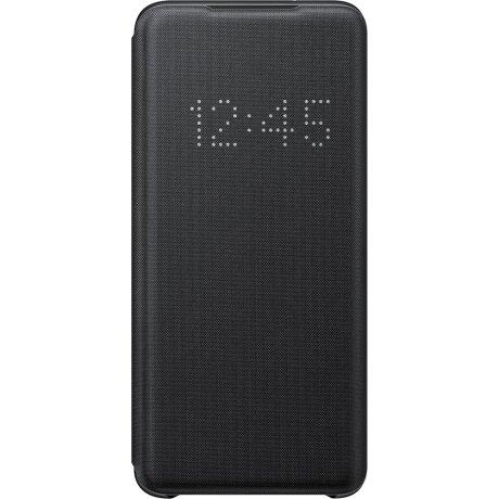 Husa Book Led Samsung pentru Samsung Galaxy S20 Negru