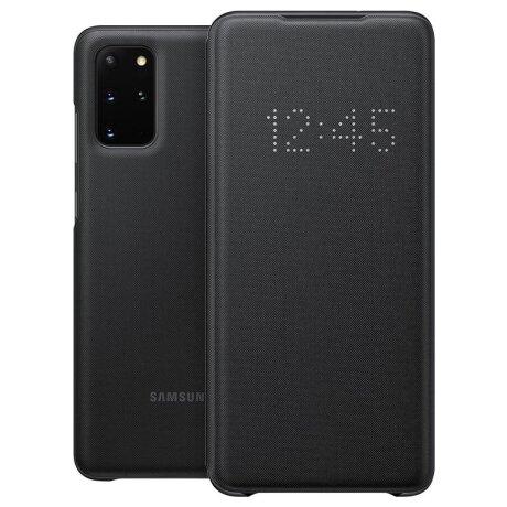 Husa Book Led Samsung pentru Samsung Galaxy S20 Plus Negru