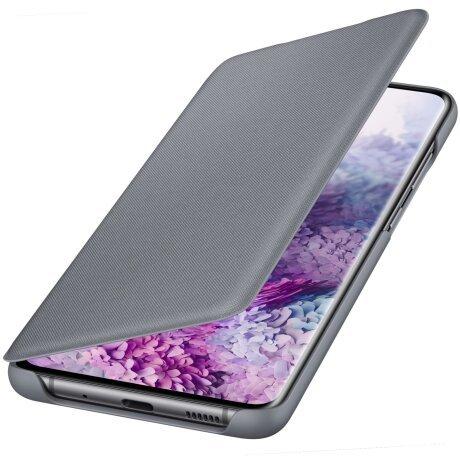 Husa Book Led Samsung pentru Samsung Galaxy S20 Plus Gri