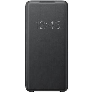 Husa Book Led Samsung pentru Samsung Galaxy S20 Ultra Negru