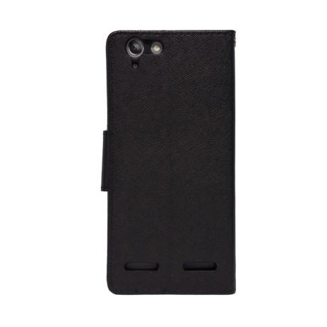 Husa Book Lenovo K5/K5 Plus Negru